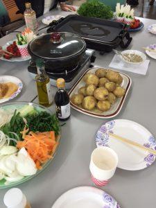 本物の野菜を食べる会1